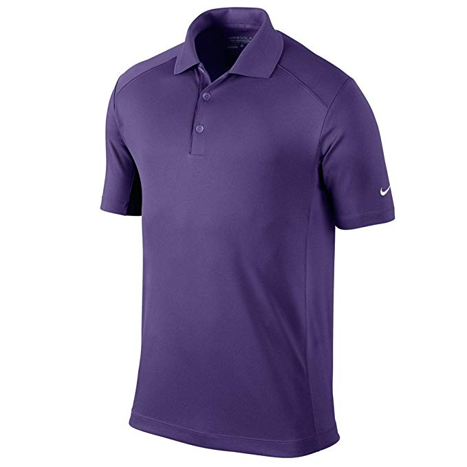 Nike Golf Victory Polo Shirt Mens 509167 Court Purple Size Large
