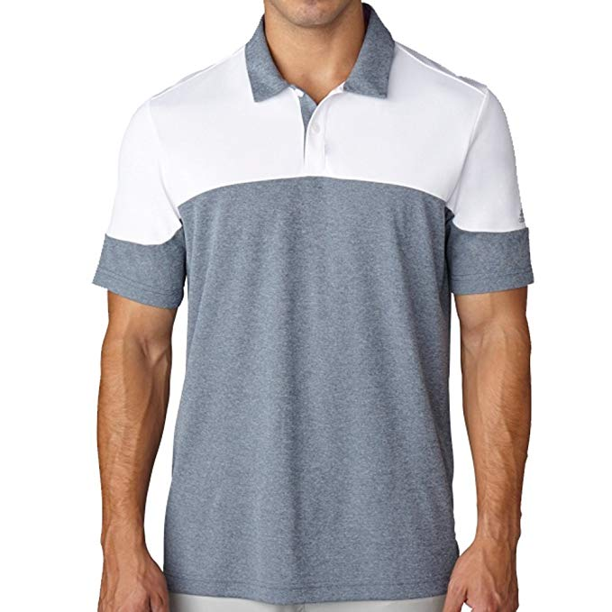 adidas Golf Men's Climachill? Blocked Polo