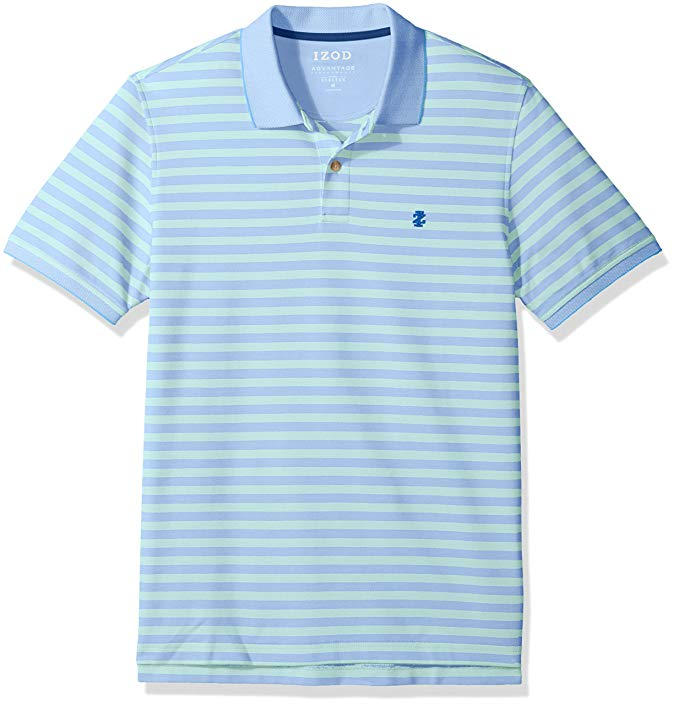 IZOD Men's Advantage Performance Stripe Polo