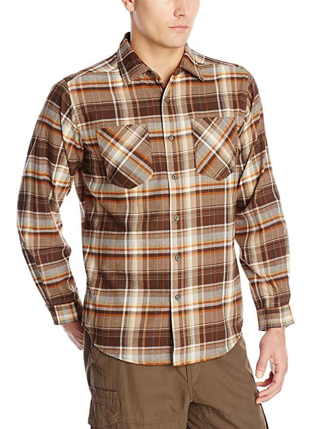 ExOfficio Men's Geode Flannel Long Sleeve Shirt
