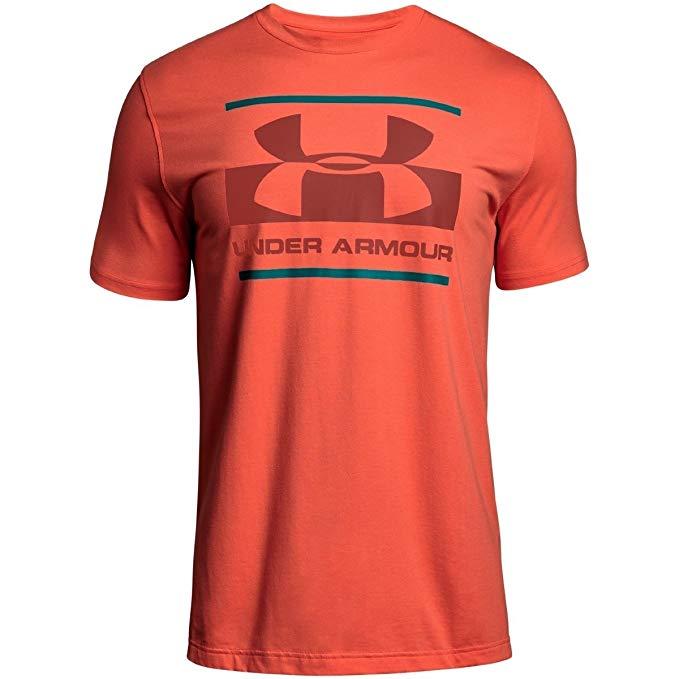 Under Armour Men's Blocked Sportstyle Logo T-Shirt