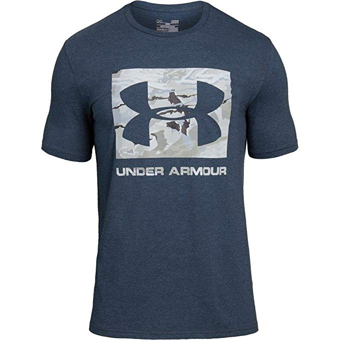 Under Armour Men's Camo Knockout Logo T-Shirt