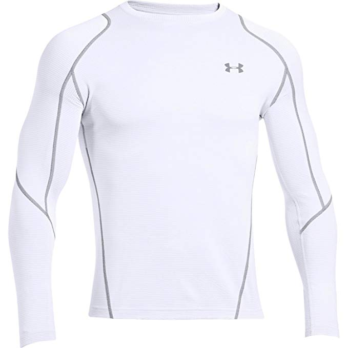 Under Armour Coldgear Infrared Grid Crew Long Sleeve Top
