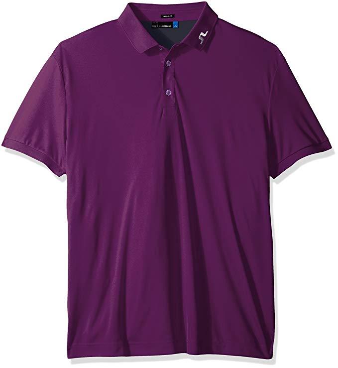 J.Lindeberg Men's Kv Jersey Polo Shirt