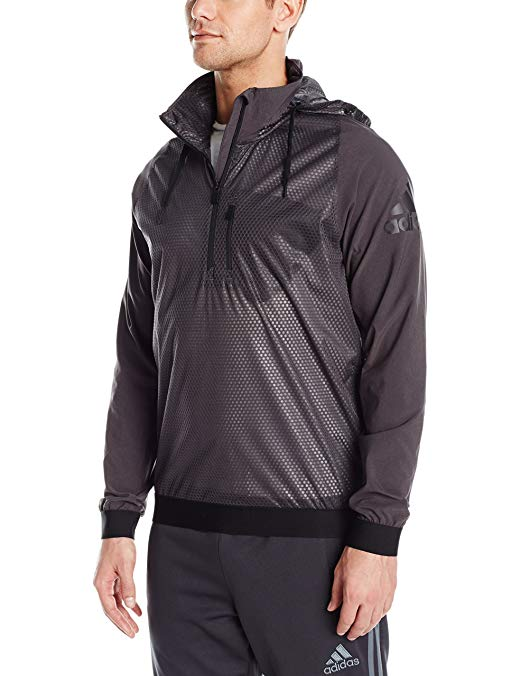 adidas Men's Training Climastorm 1/2 Zip Long Sleeve Shirt