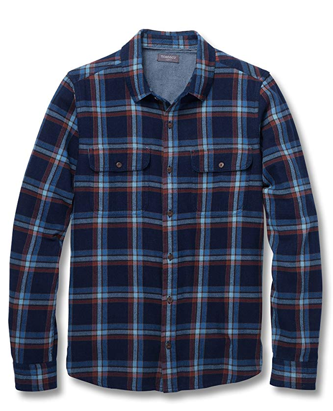 Toad&Co Indigo Flannel LS Shirt - Men's