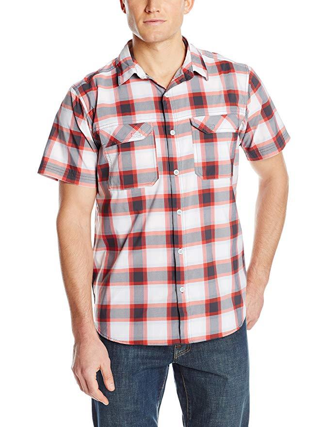 Columbia Men's Royce Peak II Plaid Short Sleeve Shirt