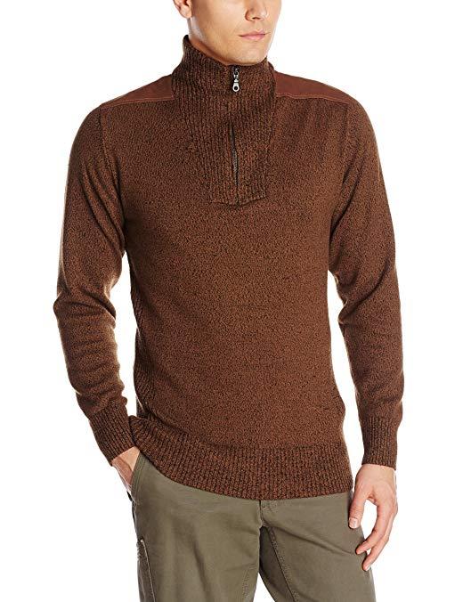 ExOfficio Men's Cafenisto Funnel Neck Sweater