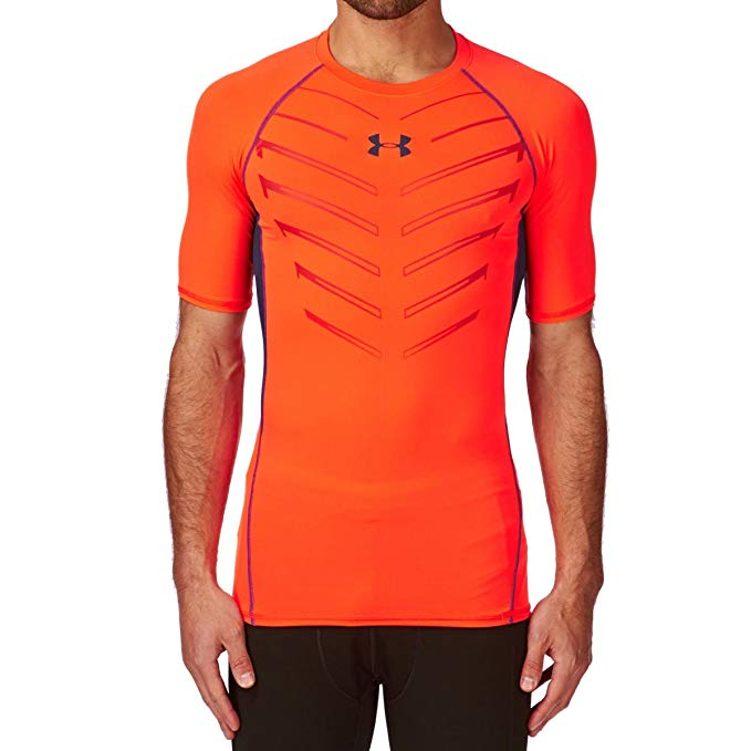 Under Armour Men's Ua HeatGear Exo S/S Compression Shirt