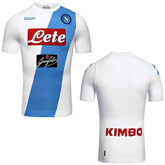 Kappa 2016-2017 Napoli Authentic Away Shirt