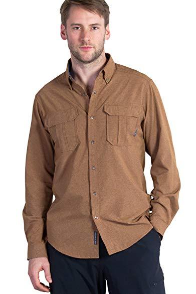 ExOfficio Men's Air Space Long Sleeve Shirt