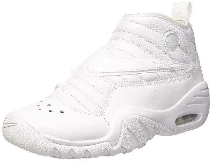 Nike Men's Air Shake Ndestrukt, White/White-White