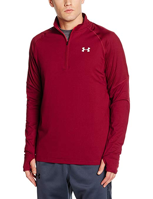 Under Armour Men's No Breaks Run 1/4 Zip