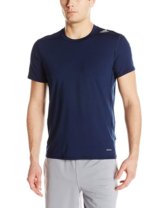 adidas Men's Techfit Baselayer Compression Short Sleeve Top