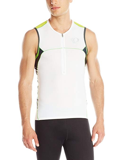 Pearl Izumi - Run Men's Elite in-R-Cool Tri Sleeve Less Jersey