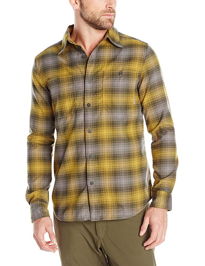 Merrell Men's Subpolar Flannel Shirt, XX-Large, Deep Olive