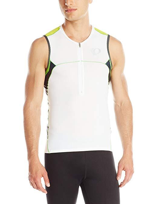 Pearl Izumi - Run Men's Elite in-R-Cool Tri Sleeve Less Jersey