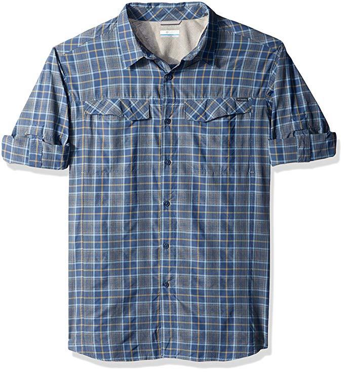 Columbia Men's Silver Ridge Plaid Big & Tall Long Sleeve Shirt